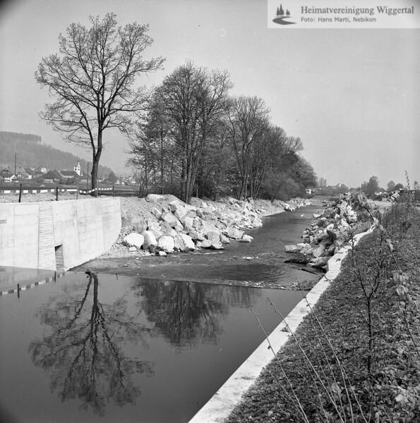 Flussverbauungen 1979 Brittnau