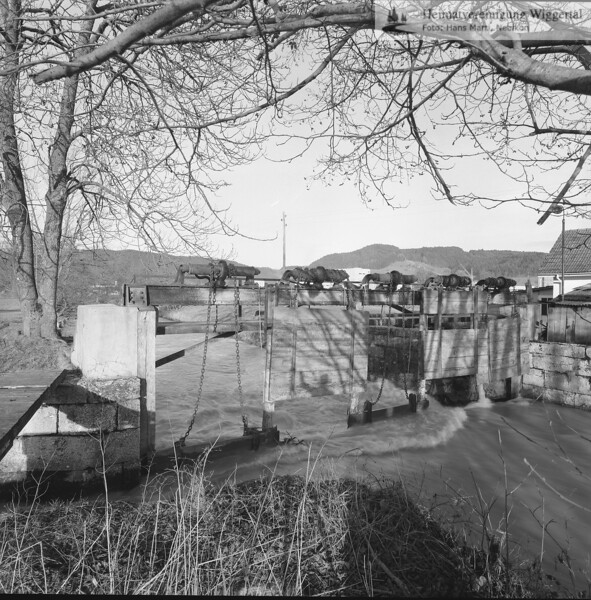 Flussverbauungen Dagmresellen,Wiggernbau 1972