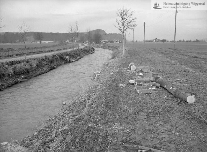 Flussverbauungen 1978