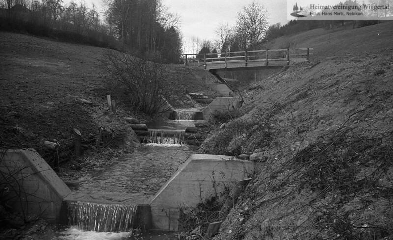 Flussverbauungen 1987 Herbst Ebersecken