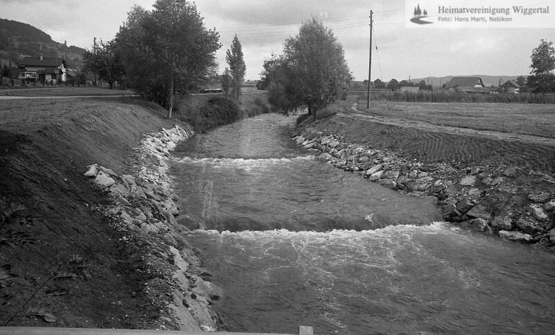 Flussverbauungen Egolzwil 1984
