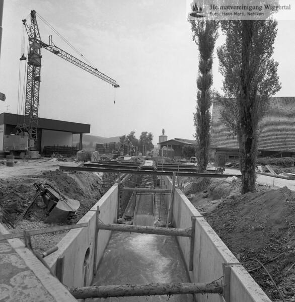Flussverbauungen Roth bei Riedbrugg Ettiswil
