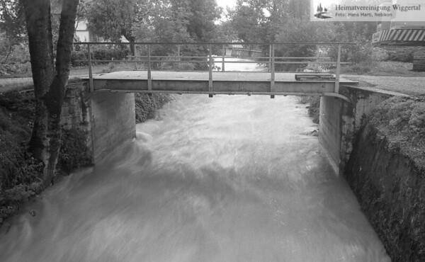 Flussverbauungen Luthern Nebikon Herbst 1984