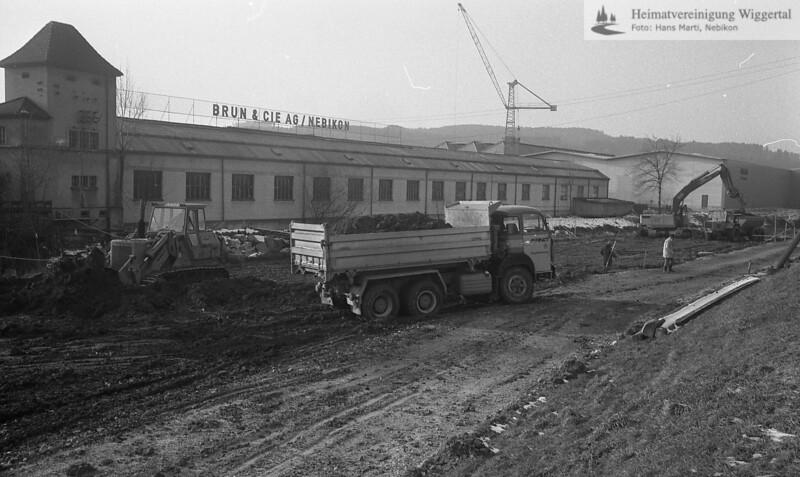 Flussverbauungen Wigger 1984