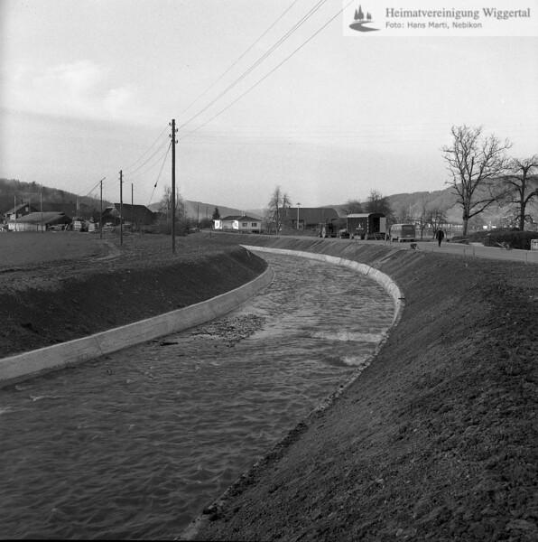 Flussverbauungen Luthern Gläng