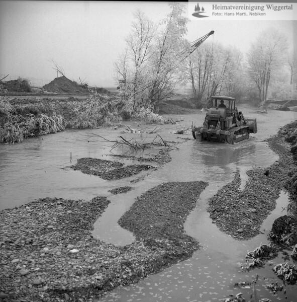 Flussverbauungen 1972/70