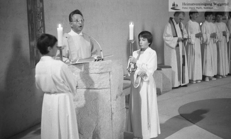 Reportagen Kirchenweihe 1990 Sept. Altishofen