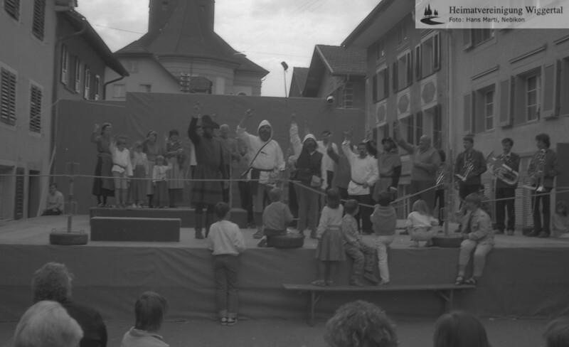 Reportagen Willisau 7/8 Juni Auffahrt 1986