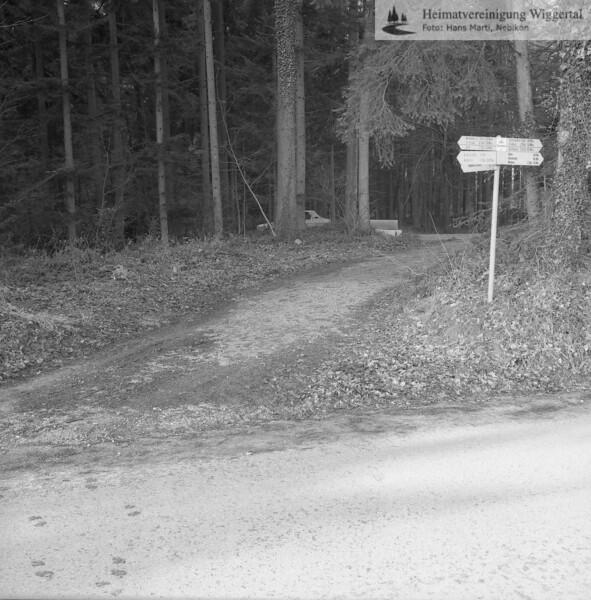 Reportagen Strasse Wasen Winter 1982/83