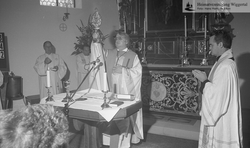 Reportagen Einweihung Kapelle Buchs 19. Aug 1984