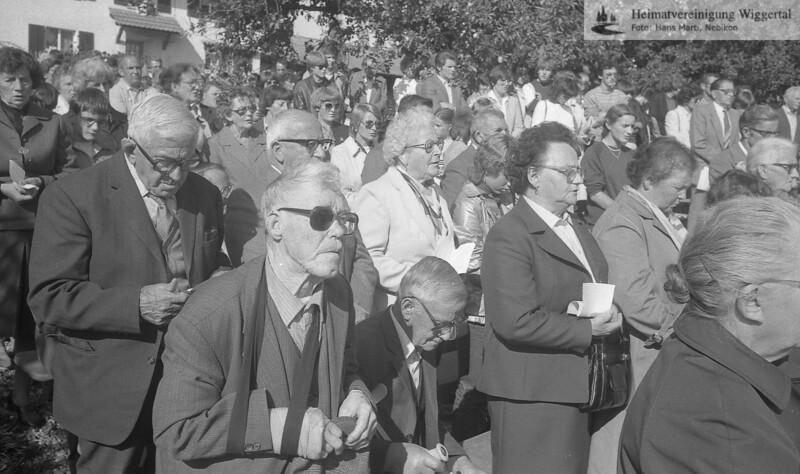 Reportagen Einweihung Chäppali Bettag 1983