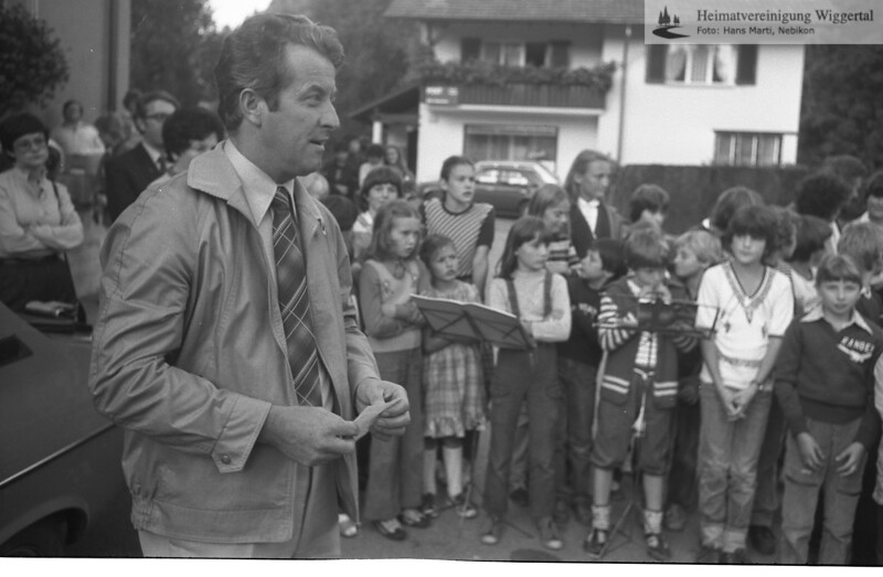 Reportagen Einweihung in Ebersecken 27.9.1982