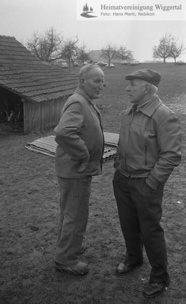 Reportagen Steigerung Wüest Alfred Hostris Schötz März 1984