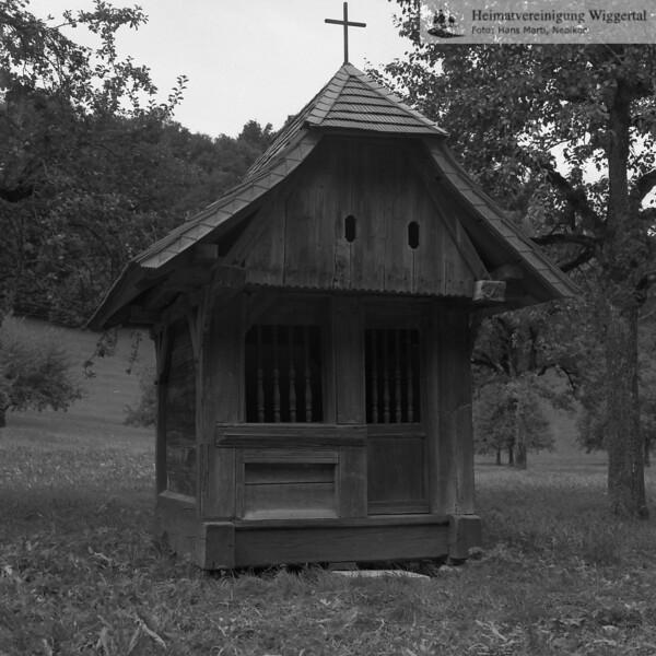 #100023 | Hintersagen; Holzkapelle; fja