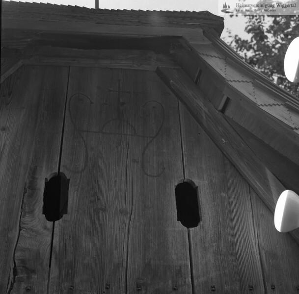#100038 | Hintersagen; Holzkapelle; Details; fja