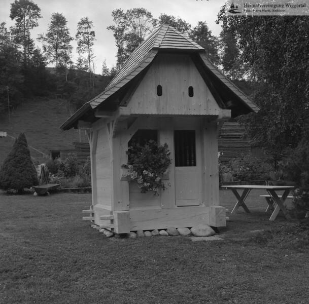 #100034 | Hintersagen; Holzkapelle; fja