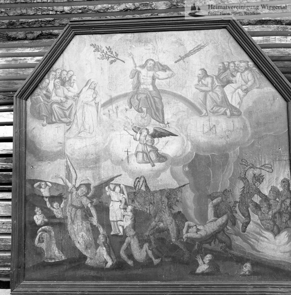 #100024 | Votivtafel, gemalt 1753, restauriert 1963 von Willy Huwiler