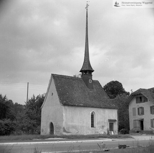 #100052 | Dorfkapelle St. Niklaus; vor der Renovation; fja