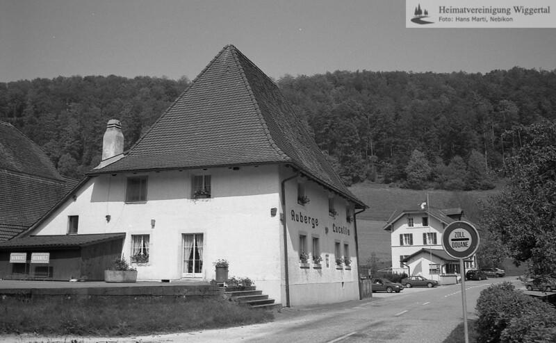 #100290 | Zisterzienser; Lucelle; Gasthaus auf der Schweizer Seite; fja