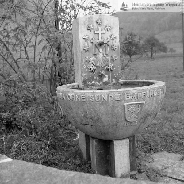 #100331 | Brunnen bei der Marienkapelle; 1944; amei; fja