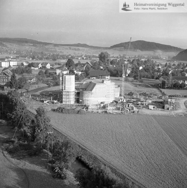 #100382 | Baustelle Pfarrkirche und Pfarrhaus; elaf