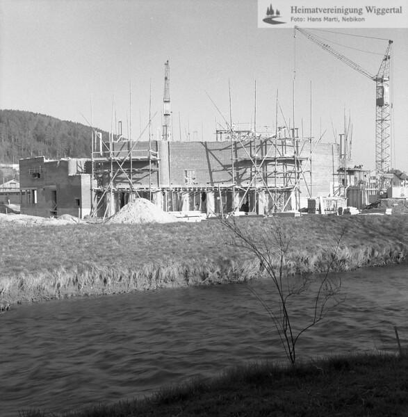 #100381 | Baustelle Pfarrkirche und Pfarrhaus; elaf