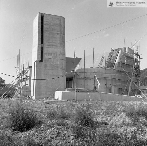 #100363 | Bau der Pfarrkirche; elaf