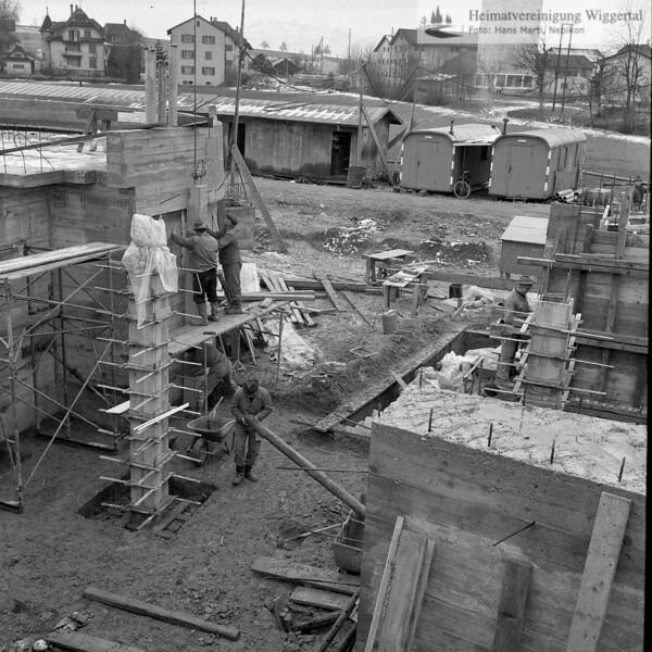 #100372 | BaustellePfarrkirche und Pfarrhaus; elaf