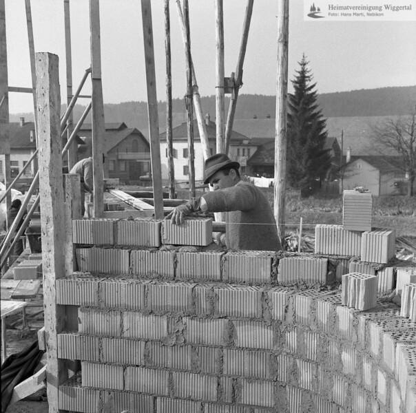 #100377 | Baustelle Pfarrkirche und Pfarrhaus; elaf