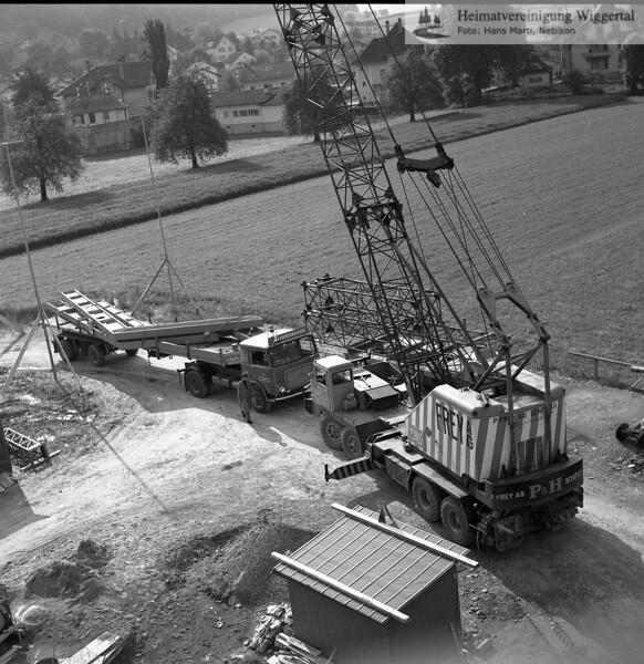 #100367 | Baustelle Pfarrkirche und Pfarrhaus; elaf