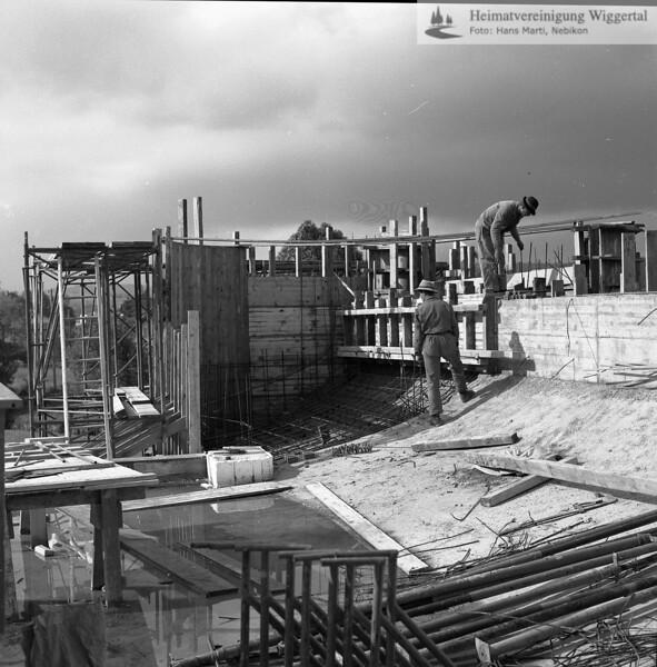 #100370 | Baustelle Pfarrkirche und Pfarrhaus; elaf