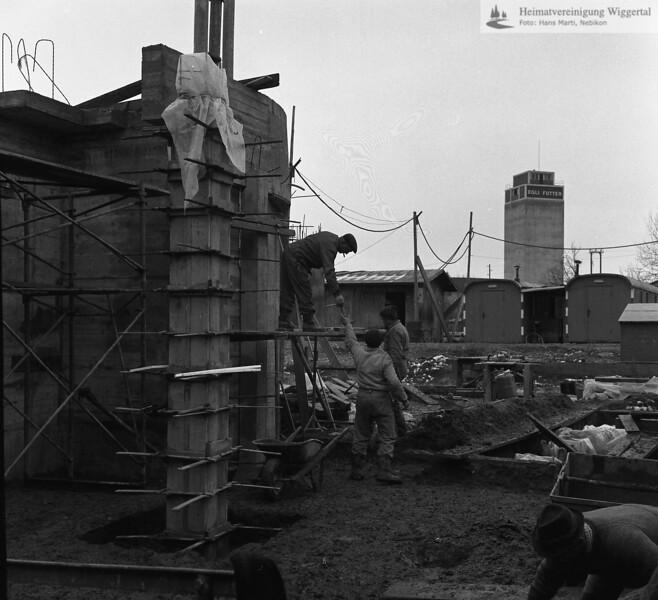 Kirchenbau 1967 Nebikon