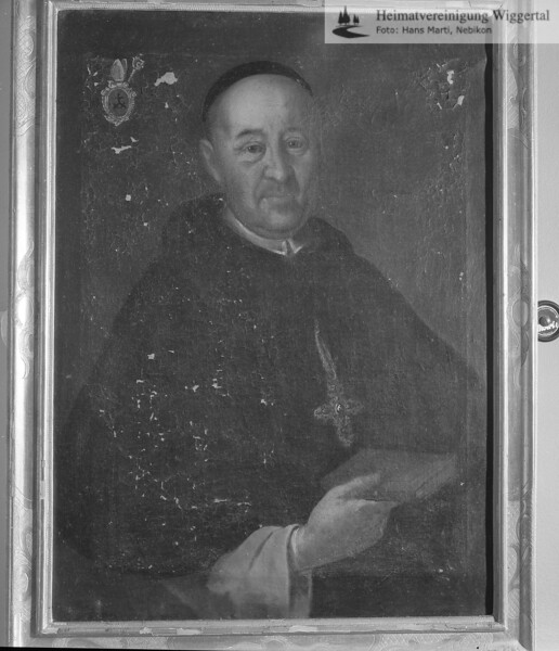 #100441 | wo?; Malachias Glutz; Abt im Kloster St.Urban von 1706 - 1726 Bauherr der Klosterkirche; elaf