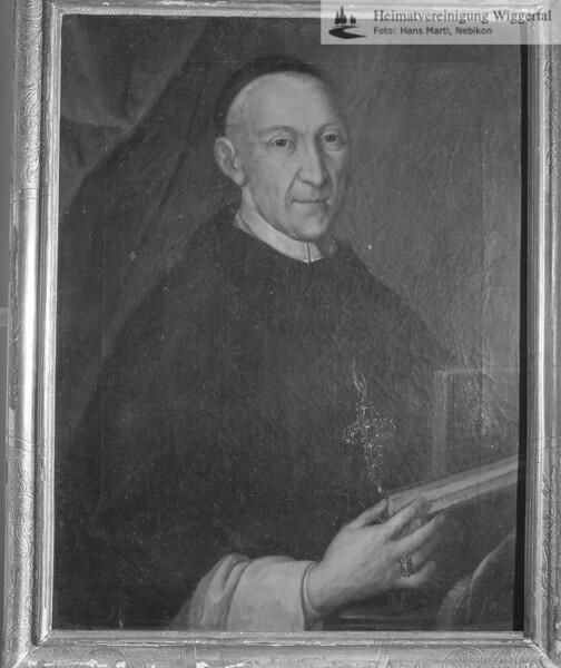 #100442 | wo?; Robert Balthasar; Abt im Kloster St.Urban von 1726 - 1751; elaf