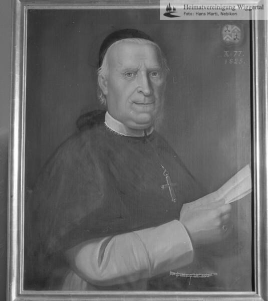 #100440 | Karl Ambros Glutz - Ruchti; Abt in St. Urban von 1787-1813; elaf