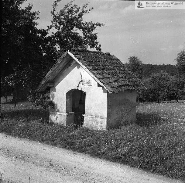 Die alte Wendelinskapelle auf dem Lätten in Reiden