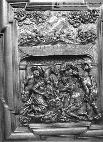 #100515 | Klosterkirche; Chorgestühl; Weihnachten; elaf; MHN; fja