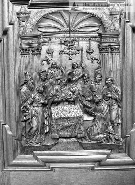 #100524 | Klosterkirche; Chorgestühl; elaf