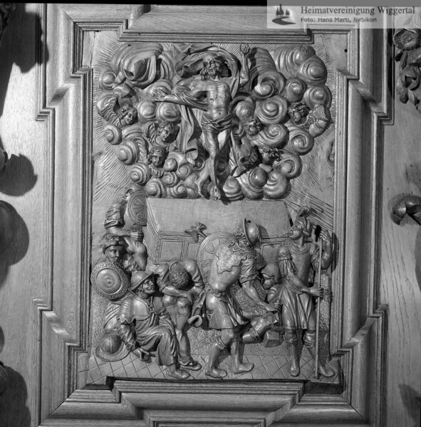 #100527 | Klosterkirche; Chorgestühl; Ostern; elaf; fja