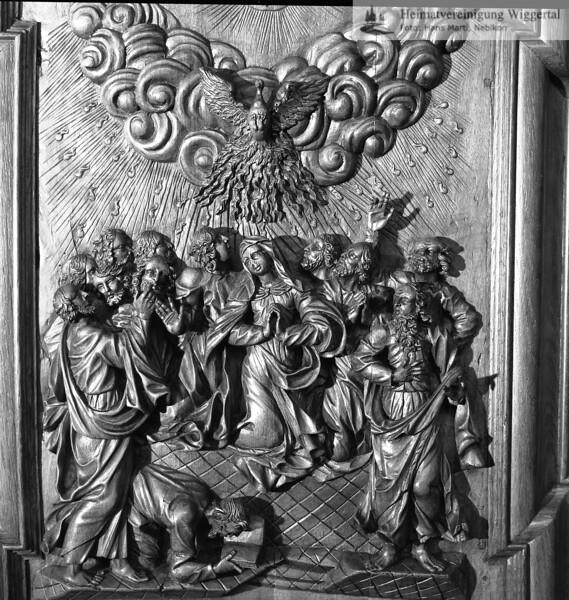 #100514 | Klosterkirche; Chorgestühl; Pfingsten; elaf; MHN; fja