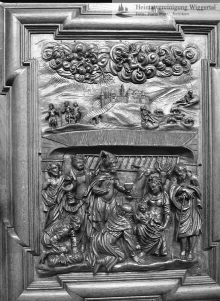 #100516 | Klosterkirche; Corgestühl; Die Könige aus dem Morgenland; elaf; fja