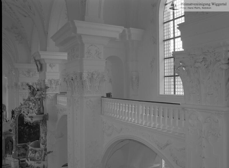 #100553 | Klosterkirche; Wandpfeiler und Emporen; elaf