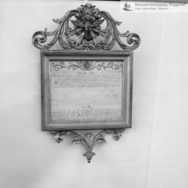 #110084 | Urkunde; LEO PP XII; . . ; . . ; wo?; was; fja