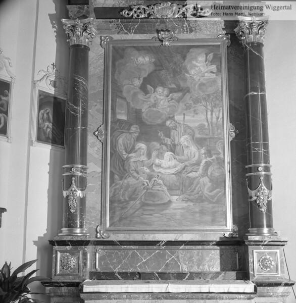 #110075 | Altarbild, Seitenalter links; Geburt Christi; amei; fja