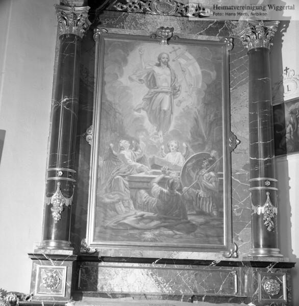 #110076 | Altarbild, Seitenaltar rechts; Ostern; amei; fja