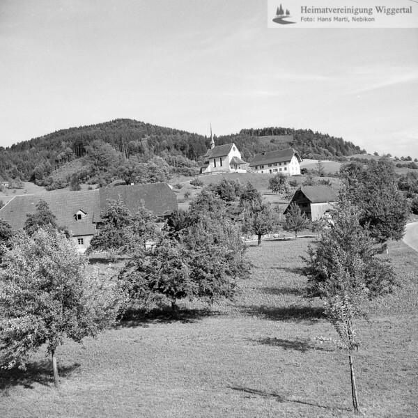 #110080 | Kapellenhügel; mit Antoniuskapelle und altem Schulhaus; elaf
