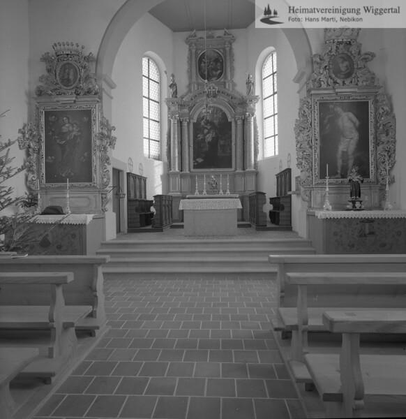 #110066 | Innenansicht der St.Antonius-Kapelle; 1974; MHN; elaf