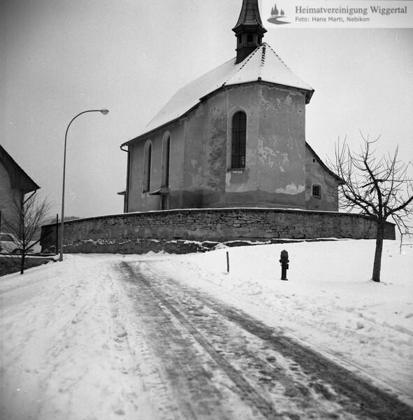 #110074 | Antoniuskapelle; Blick vom Bühl herkommend; elaf