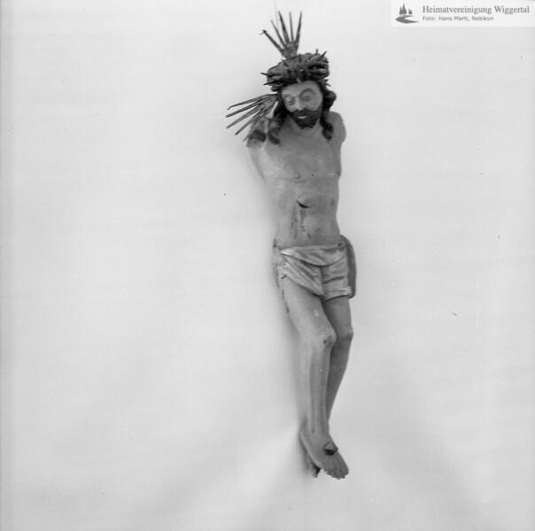 #110083 | Plastik; Der gekreuzigte Christus (ohne Kreuz); wo?; fja