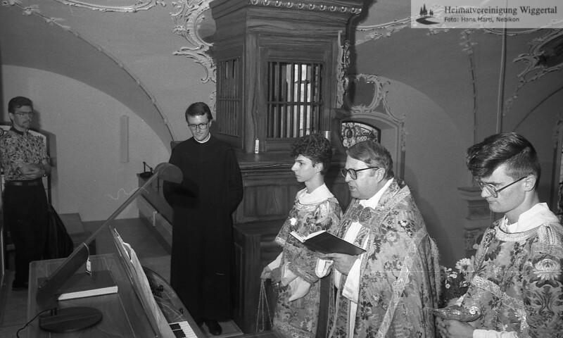 Orgelweihe Altishofen 22.9.91